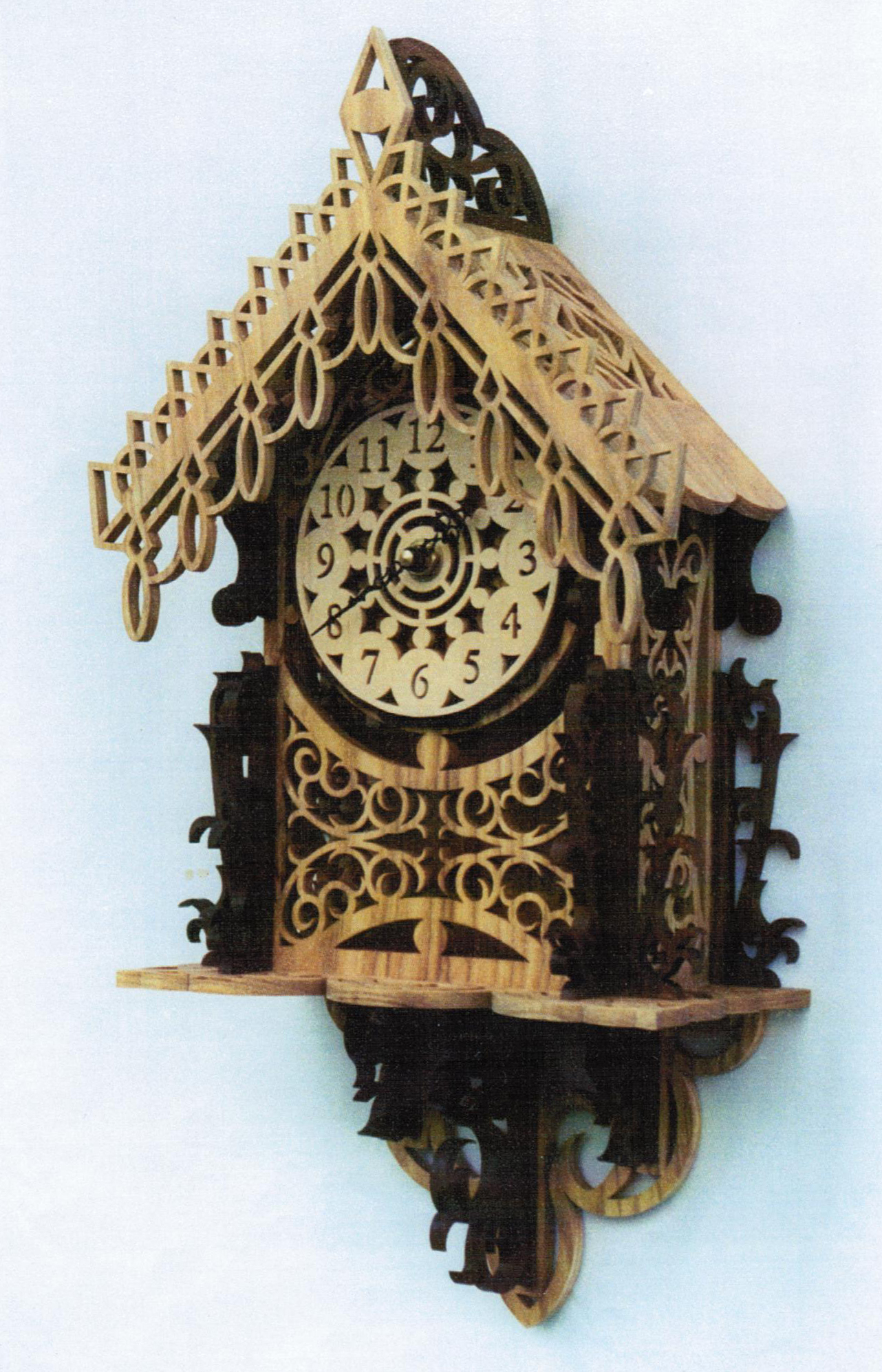 Fretwork Clock Patterns Plans Diy Free Download Drill
