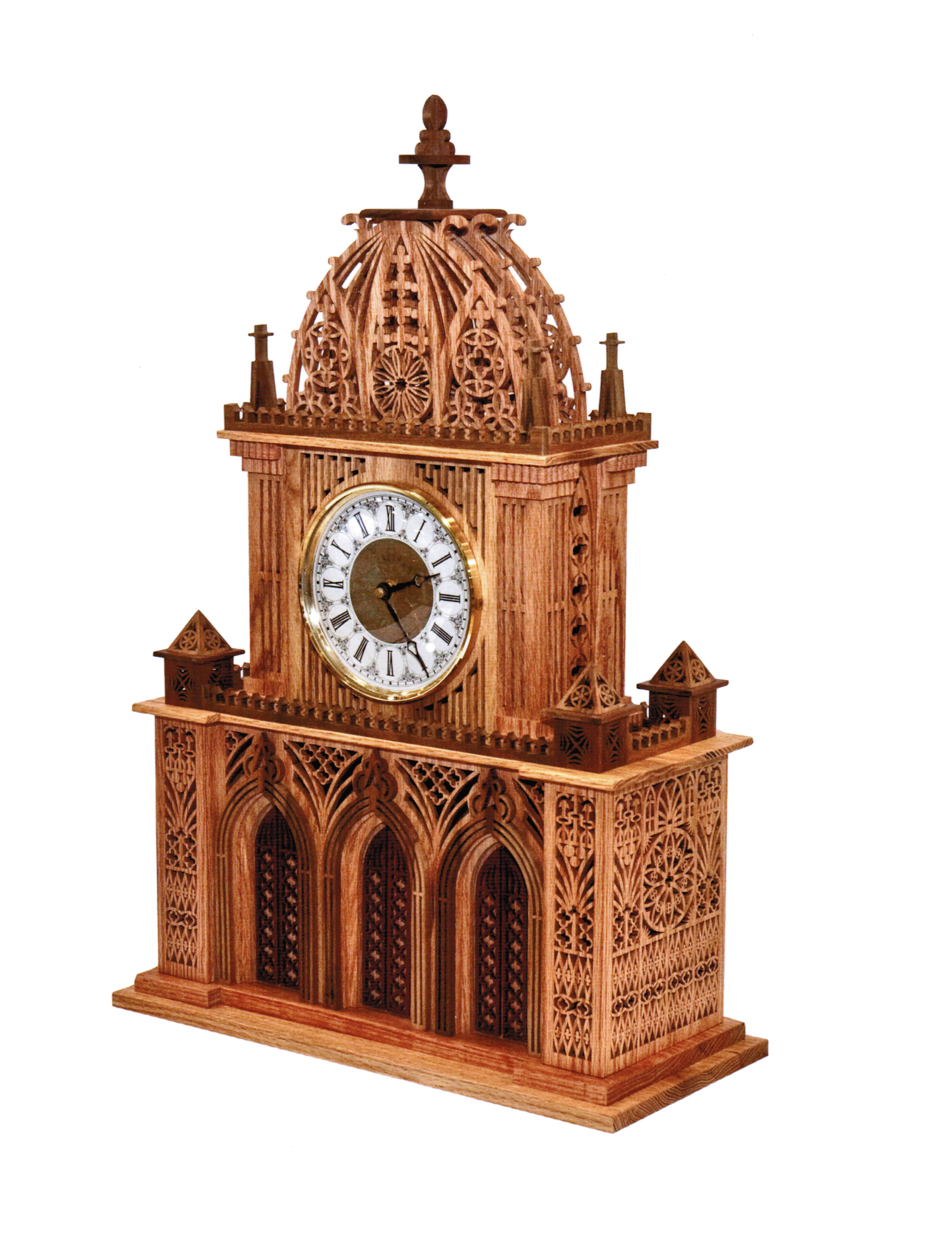 Wilckens woodworking large clock patterns larger picture amipublicfo Gallery