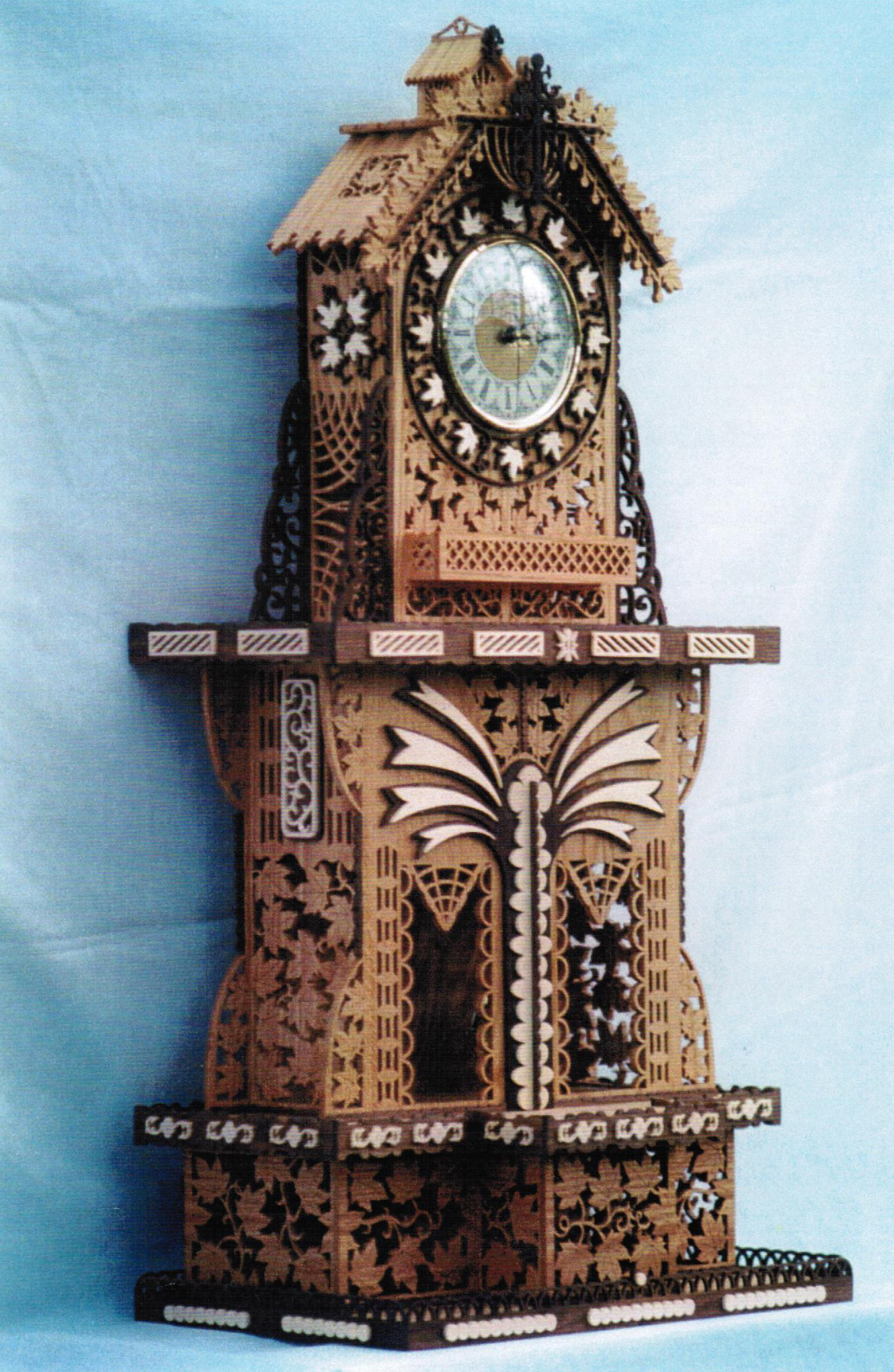 Wilckens Woodworking Large Clock Patterns